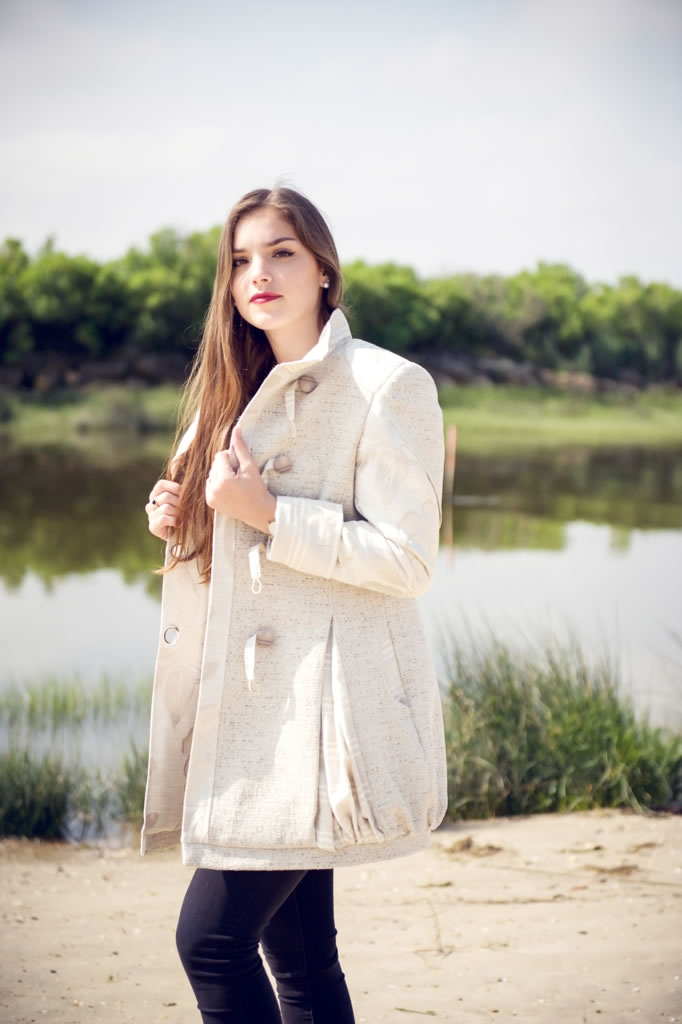 manteau tissu tapissier
