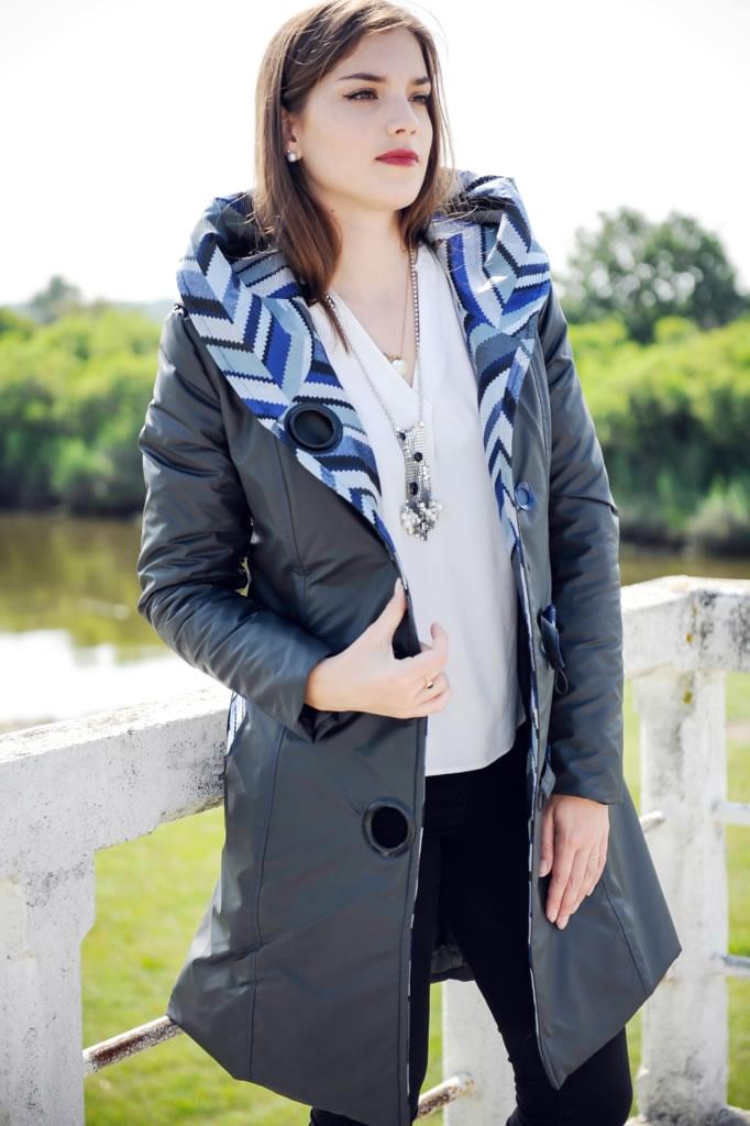 Manteau imperméable capuche 4