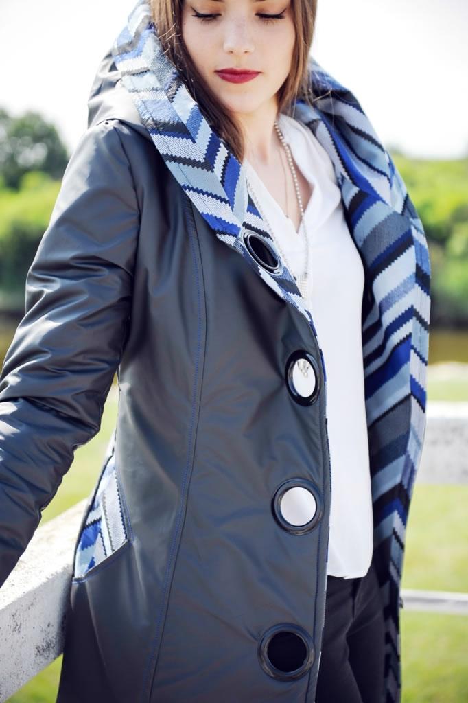 Manteau imperméable capuche 3