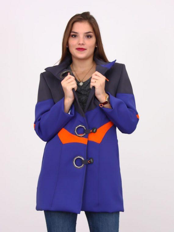 manteau néoprène tri couleurs