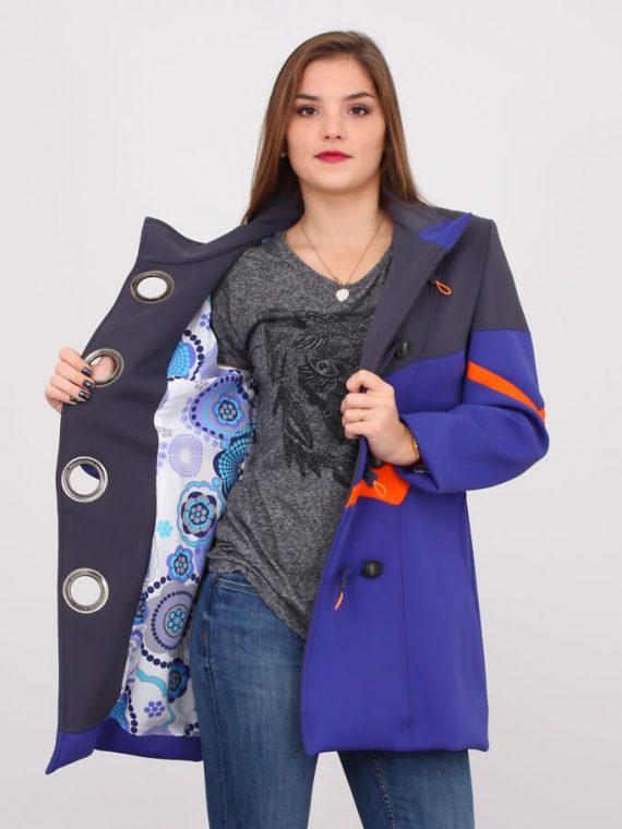 manteau néoprène tri couleurs 2
