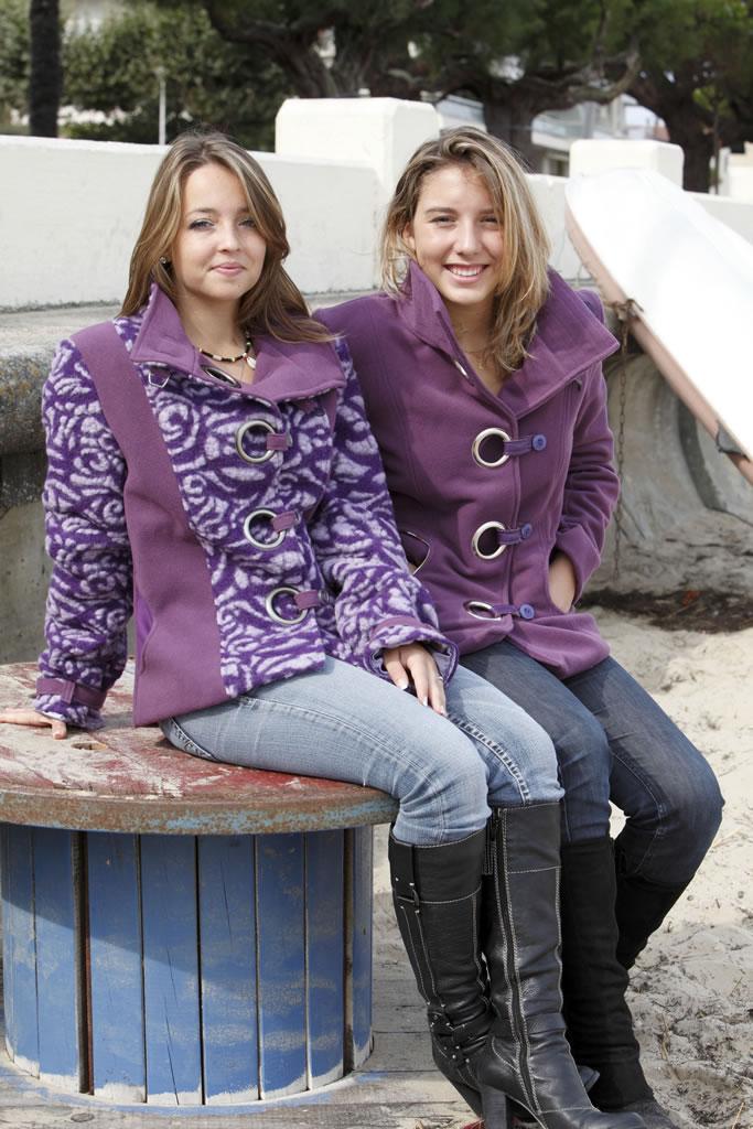 Veste en velours de laine et laine bouillie c oti cr ation - Velours de laine ameublement ...