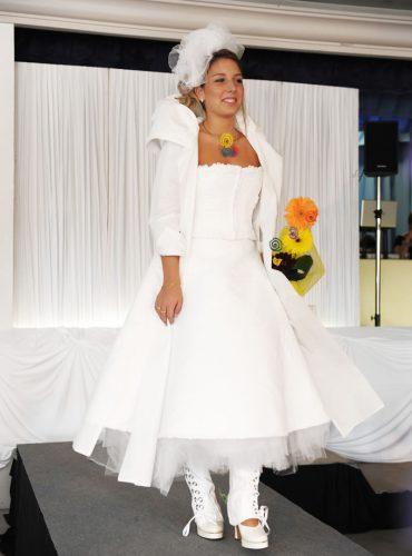 Robe de mariée à travers le temps