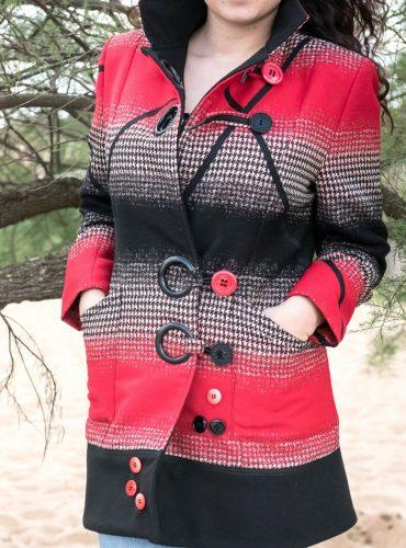 Manteau rouge – «Prince de Galles»
