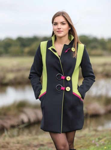 Manteau tricolore